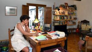 Ariadna Lluís Vidal-Folch, en su casa de Pujalt.