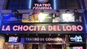 El teatro de comedia La Chocita del Loro, en Madrid.