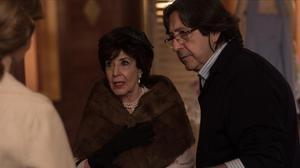 Concha Velasco, en el rodaje de la cuarta temporada de 'Velvet'.