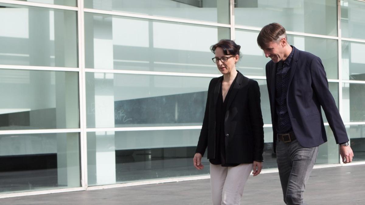 Tanya Barson y Pablo Martínez, los dos cesados, en octubre de 2016.