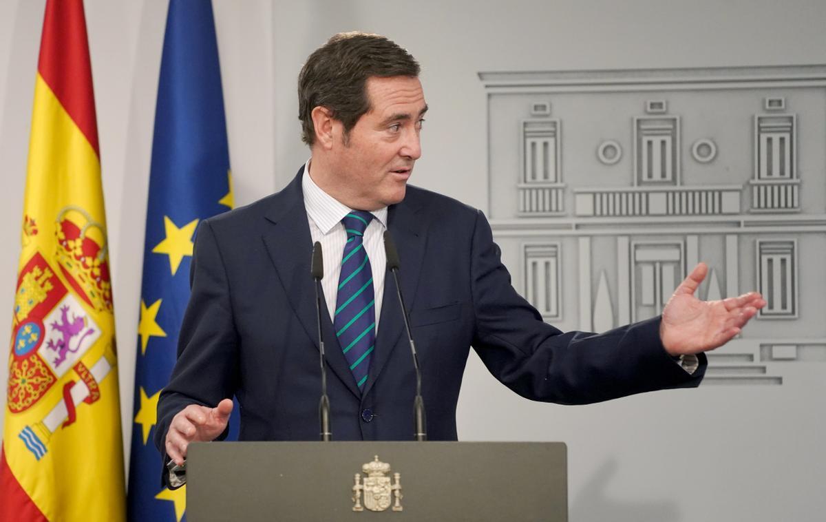 Antonio Garamendi: «Europa condiciona els fons a les reformes, hem de donar confiança»