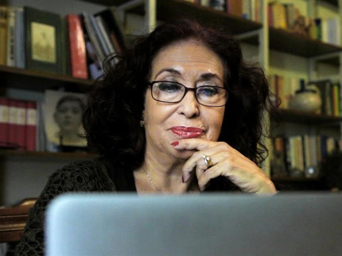 Lidia Falcón. Impulsó el Partido Feminista de España (PFE) en el año 1975 y fue pionera en trasladar el tema de la sexualidad explotada o la maternidad libre a la agenda política de los primeros años de la democracia.