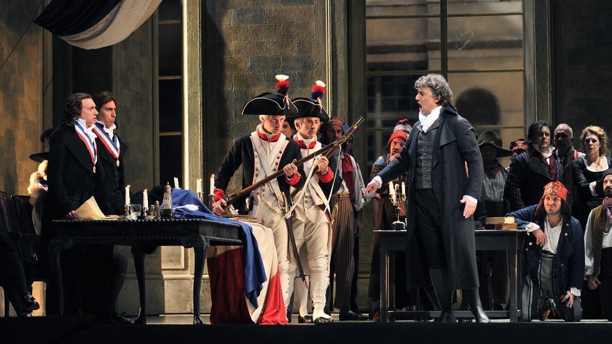 Jonas Kaufmann, en 'Andrea Chénier'.