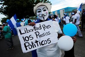 Protestas sociales en Nicaragua en contra del gobierno de Daniel Ortega.