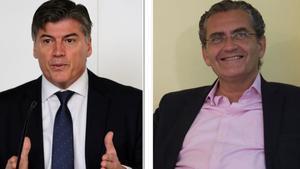 Antoni Cañete, izquierda; y Pere Barrios