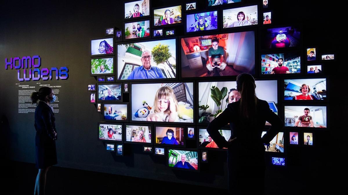 Exposición 'Homo Ludens: Videojuegos para entender del presente' en CaixaForum Madrid