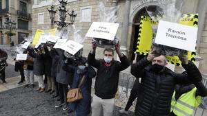 Patronales de la restauración y el comercio en Barcelona llevan carbón a gobierno de la Generalitat.