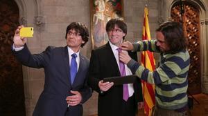 La 'fake politics' de Puigdemont