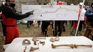 El 'hombre de Loizu', con más de 11.700 años, se convierte en el cuerpo humano completo más antiguo localizado en Navarra