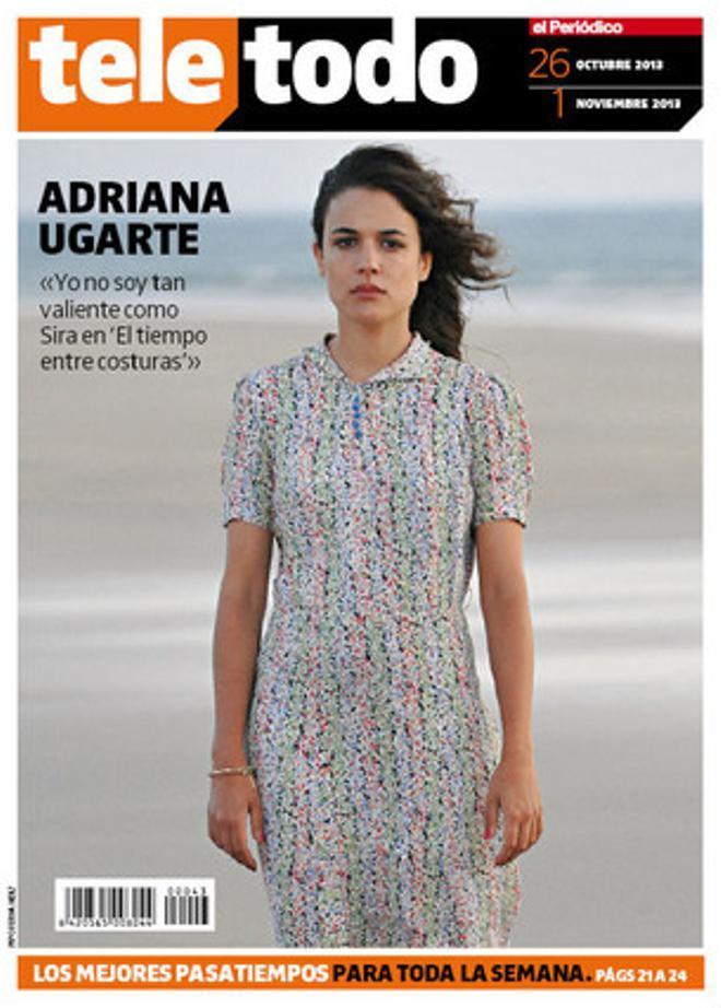 Adriana Ugarte, protagonista en 'Teletodo'.