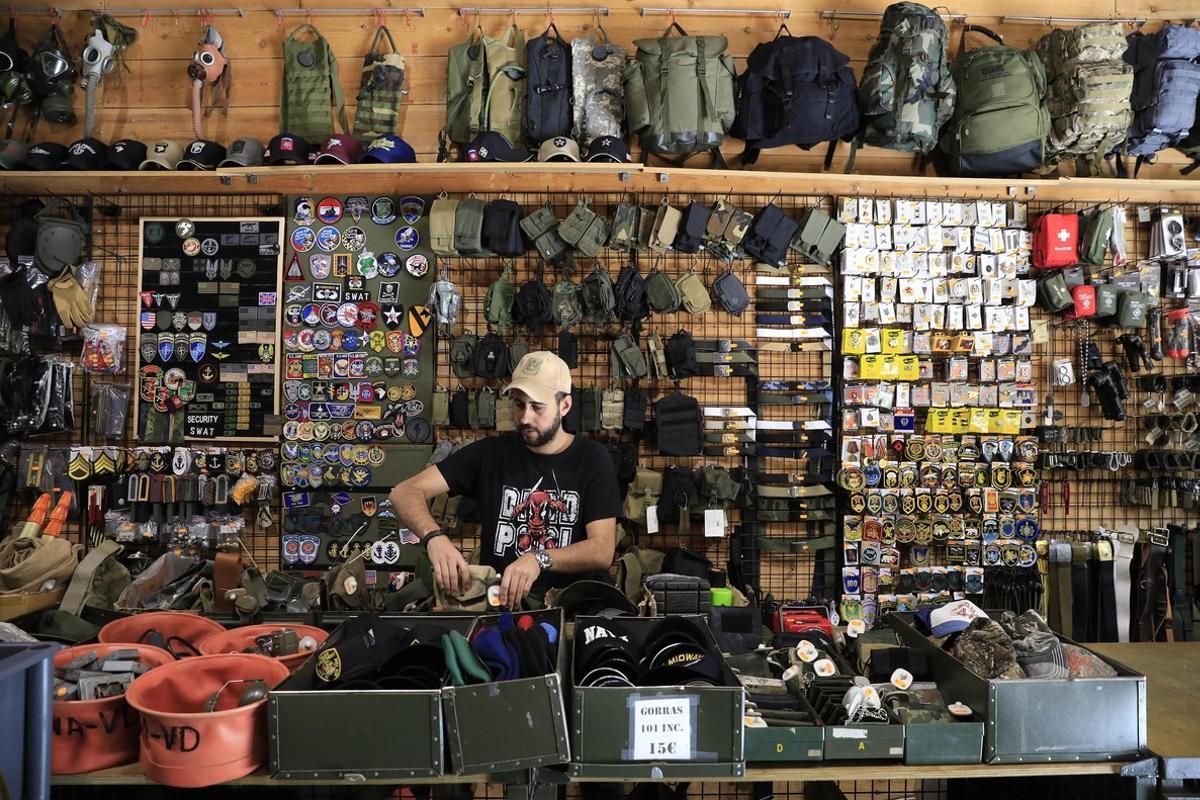 La tienda de equipamiento militar Gi Joe Surplus