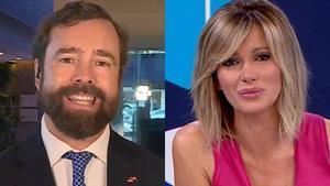 Tensión entre Susanna Griso y Espinosa de los Monteros por las mentiras de Abascal en el debate