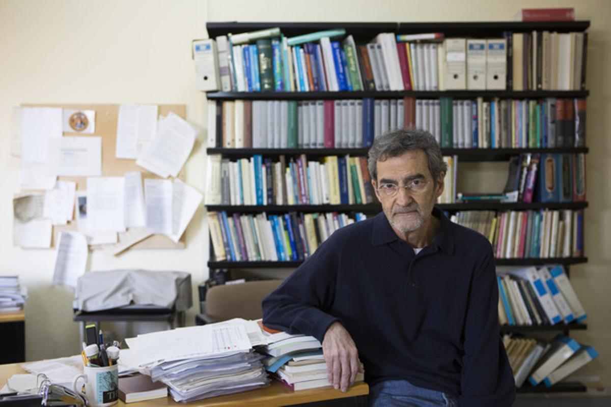 Joan Ramon Laporte, director del Institut Catalàde Farmacologia.