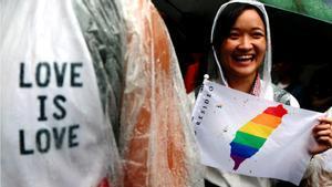 Taiwan, primer país d'Àsia a legalitzar el matrimoni homosexual