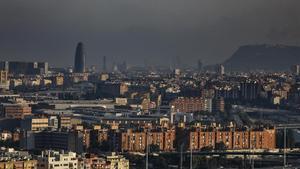 Barcelona, con alta contaminación.
