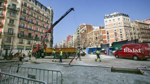 La salida de emergencia del túnel del AVE en Urgell llega a la meta.