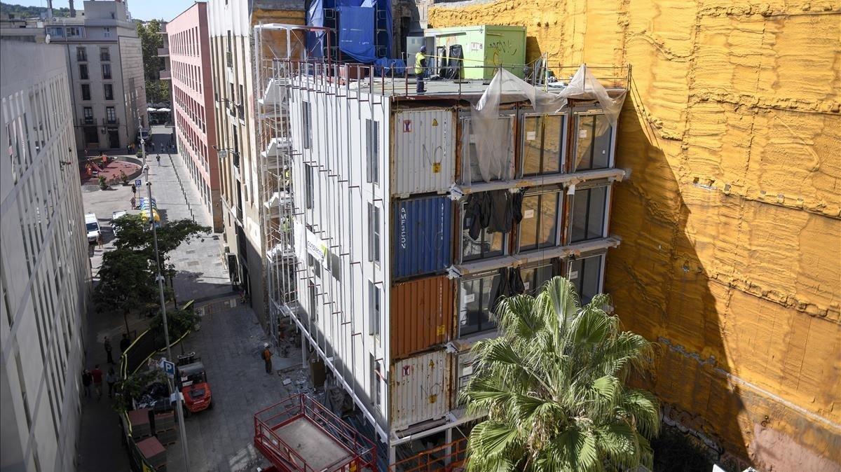 Barcelona afronta el repte d'encaixar nous tipus de vivenda