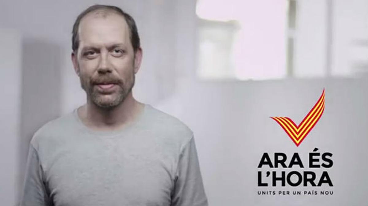 Vídeo de la campaña 'Ara és l'hora' de la ANC y Òmnium para la Diada
