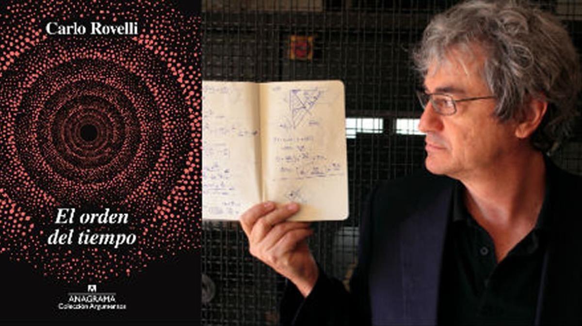 El fisico Carlo Rovelli, autor de El orden del tiempo (Anagrama, 2018)