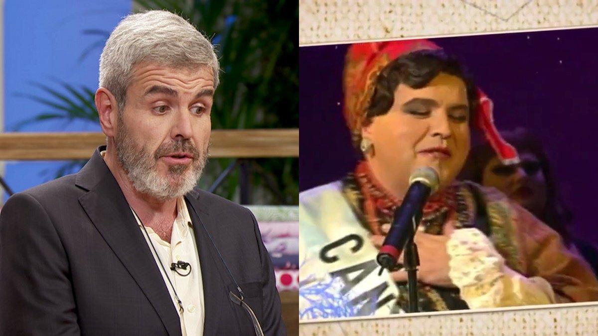 La faceta oculta de Caprile, al descubierto: fue Miss Cantabria en una gala travesti