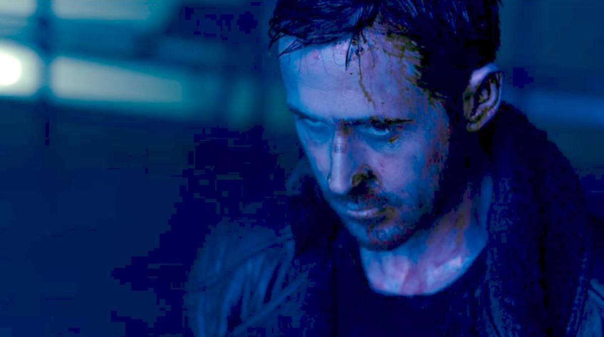 Ryan Gosling, en un fotograma de 'Blade runner 2049'.