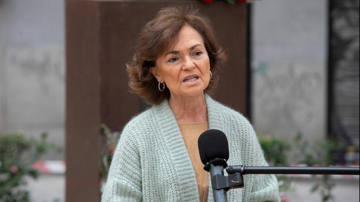 Calvo acusa a la Comunidad de Madrid de utilizar el juego de la política en la crisis del coronavirus.