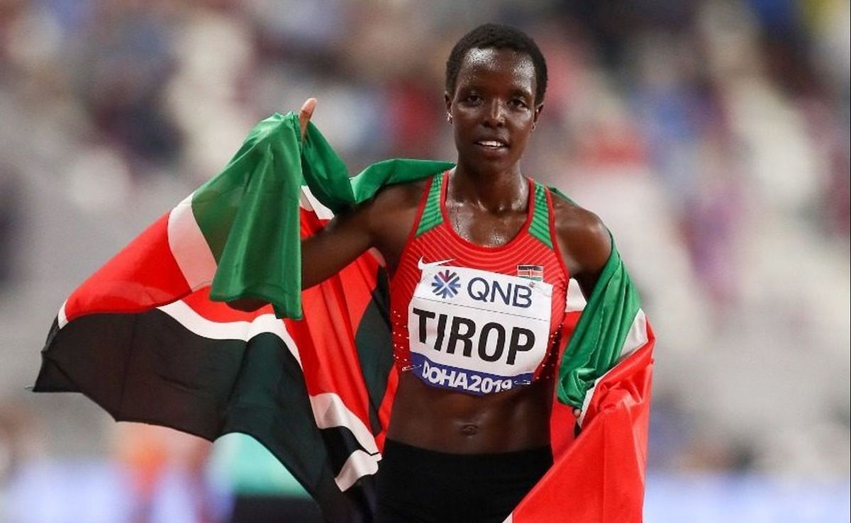 Mor apunyalada la kenyana Agnes Jebet Tirop, plusmarquista mundial de 10 km