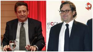 Alfonso Ussía, autor del artículo contra Messi, y Francisco Marhuenda, director de 'La Razón'.