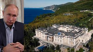 El 'palacio de Putin': megalomanía imperial (y muy 'kitsch')
