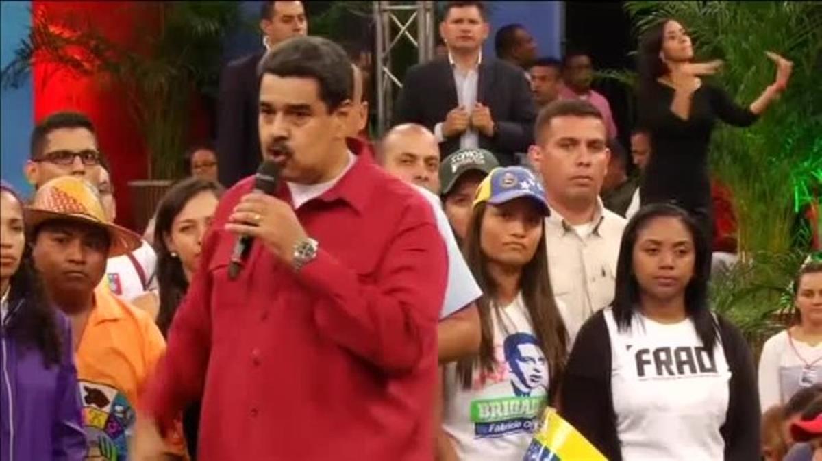 Asegura que jamás se rendirán si se intenta poner fin a la revolución bolivariana.