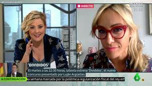 """El homenaje de Luján Argüelles a 'Password' en laSexta: """"Abril... Cerral"""""""
