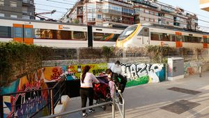 Vivir junto a las vías en L'Hospitalet, 6 historias.