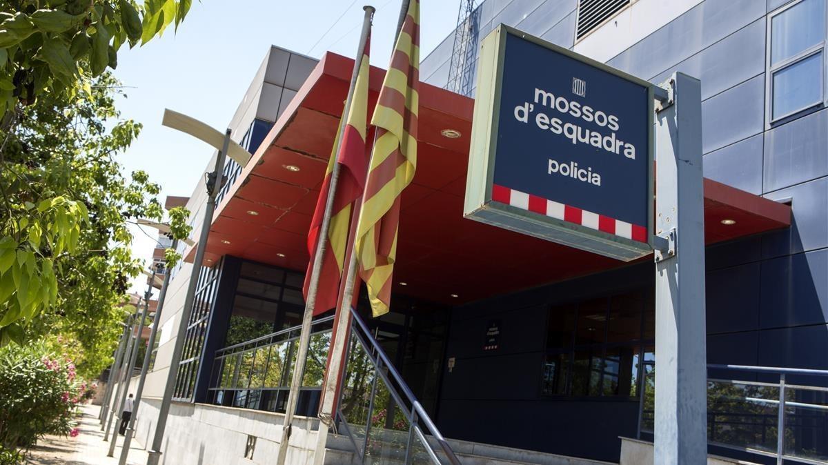 Una comisaría de losMossos d'Esquadra.