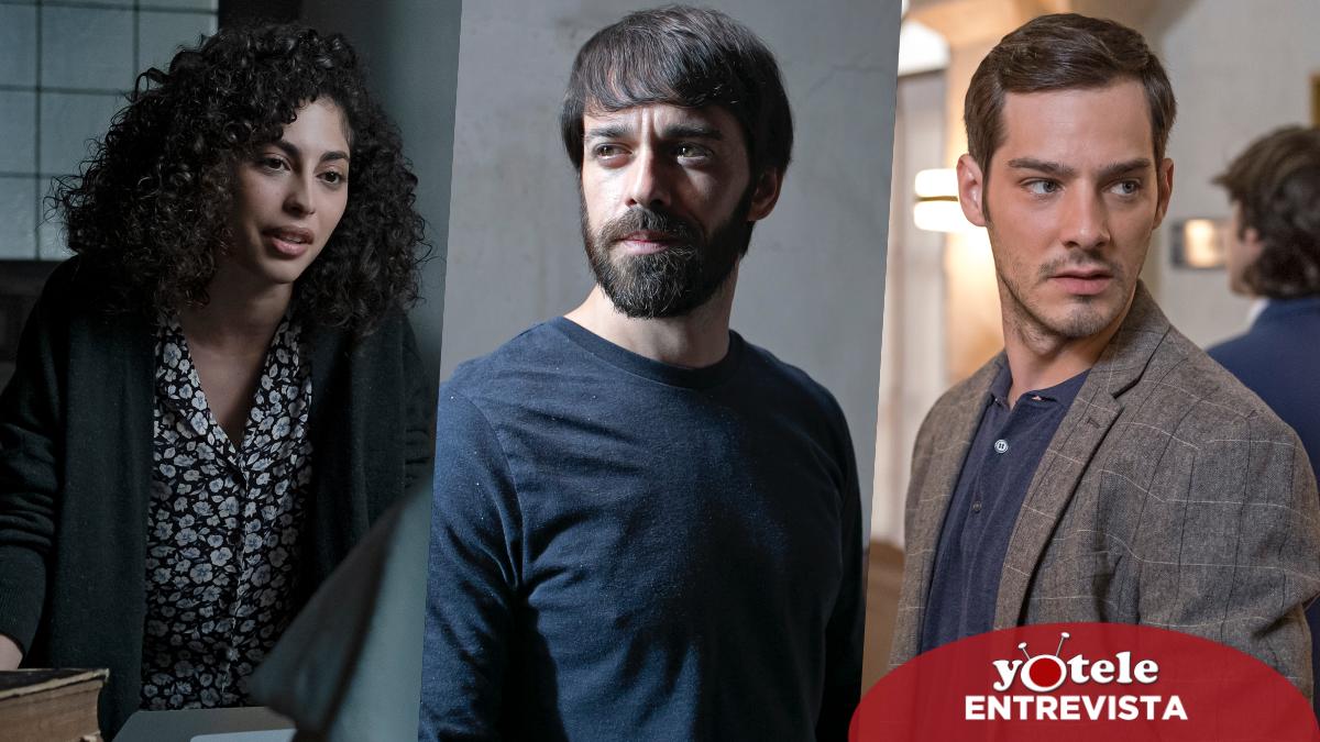 Mina El Hammani, Alberto Amarillo y Joel Bosqued, protagonistas de 'El internado. Las cumbres'