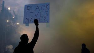 Protestas raciales en Seattletras la muerte de George Floyd.