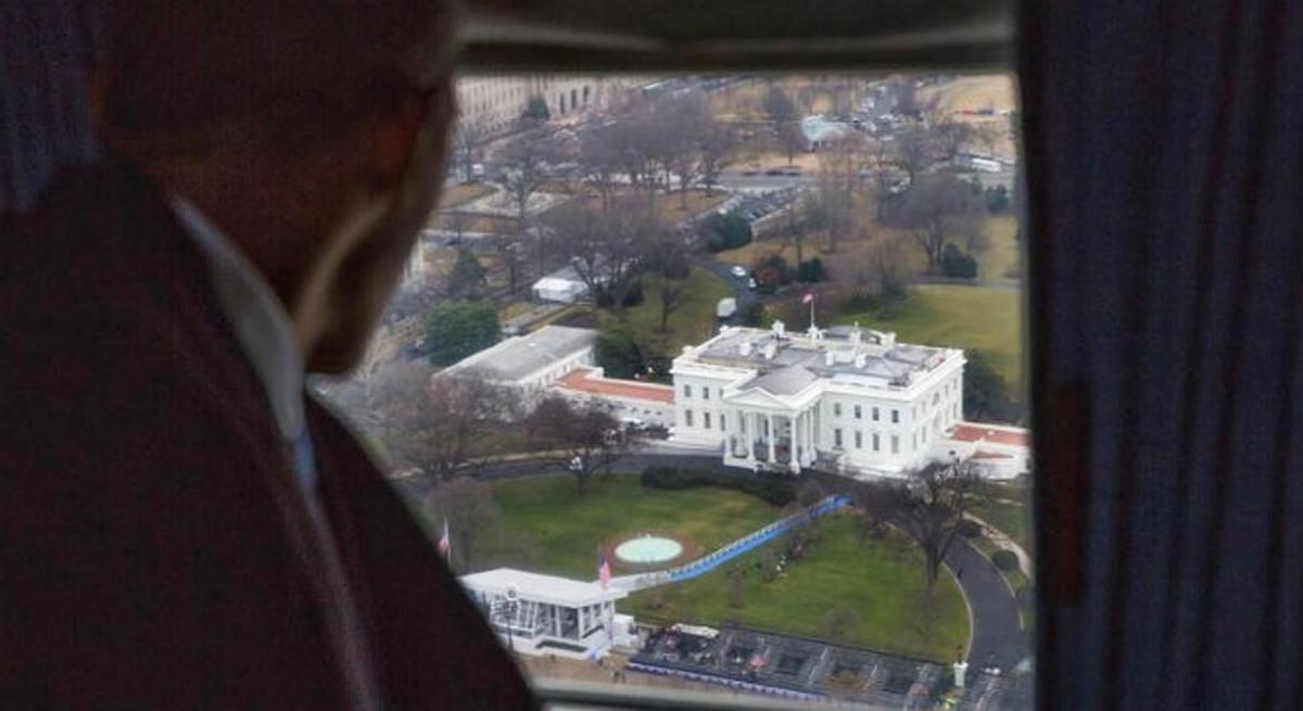 Obama se despide de la Casa Blanca.