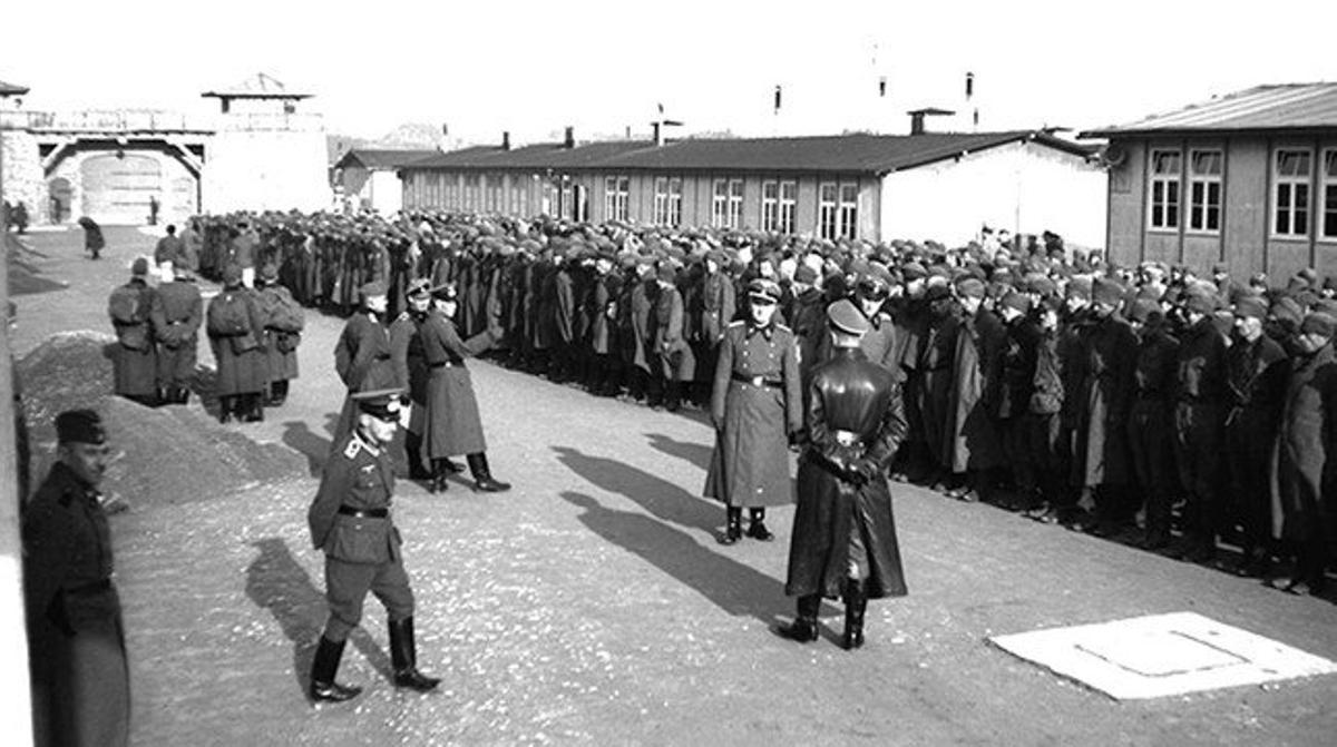 Una imagen del campo de concentración de Mauthausen, del fondo documental de la Amical Mauthausen.