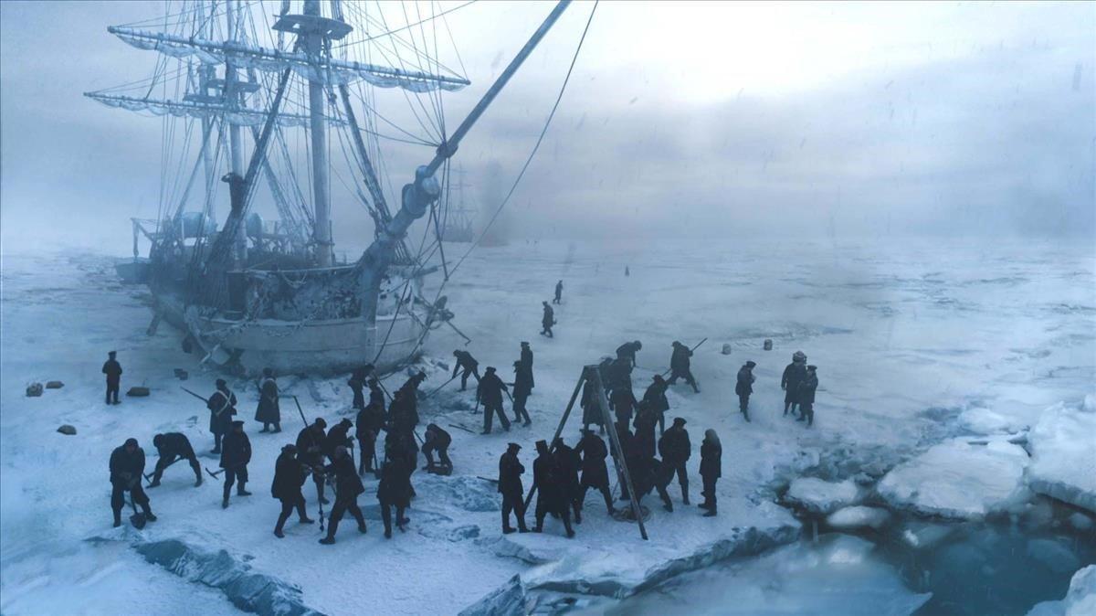 Primeras imágenes del 'Terror', el mítico navío hundido en el Ártico