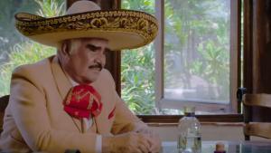El cantante mexicano Vicente Fernández.