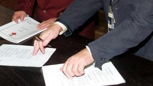 Formalización registral de una pareja.
