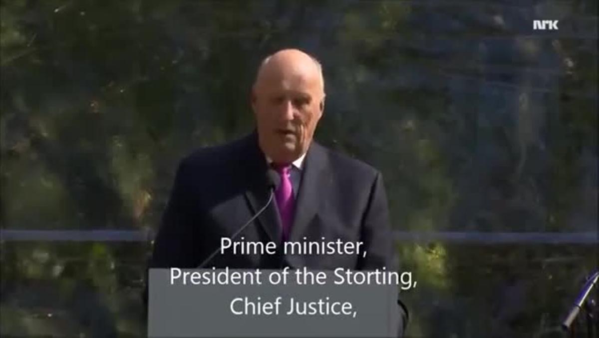 El emotivo discurso del rey Harald de Noruega que se ha hecho viral.