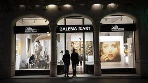 La galería Villa del Arte abre una nueva sede, tiene otras dos en el Gòtic, en el paseo de Gràcia.