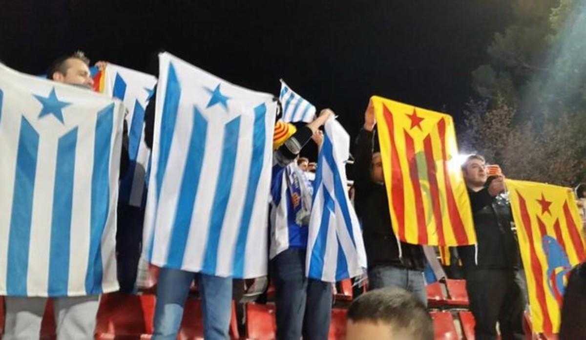 Un grup de l'Espanyol denuncia amenaces a socis amb estelades
