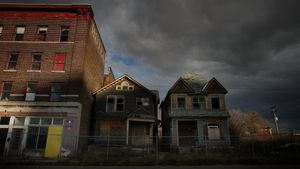 Una estampa de la decadente Detroit.