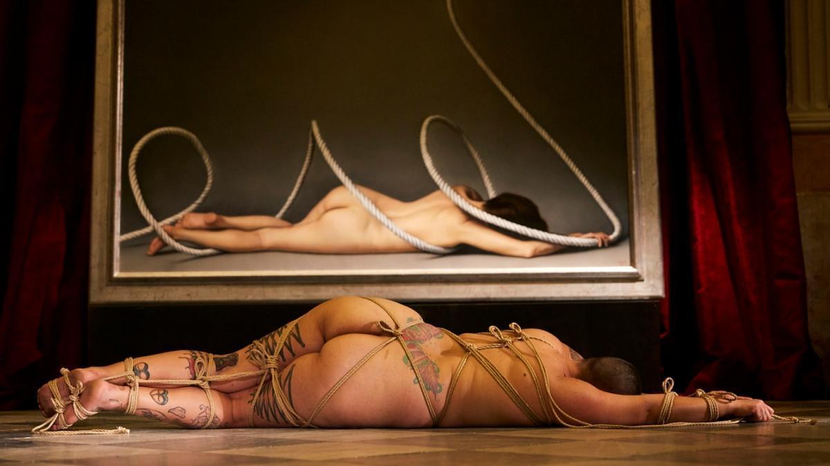 Una imagen promocional de este certamen erótico.