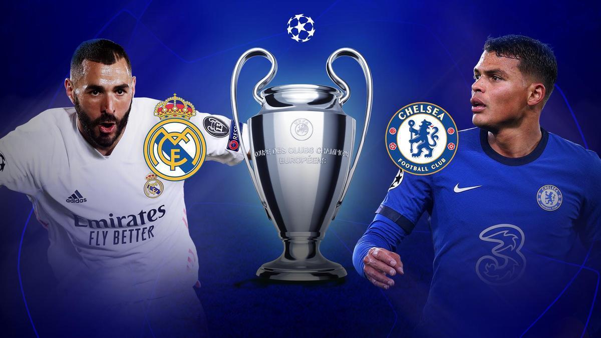Benzema y Thiago Silva, dos emblemas cara a cara.