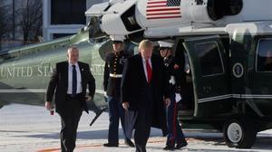Trump carrega contra l'«apocalipsi climàtica» i se suma a plantar un bilió d'arbres