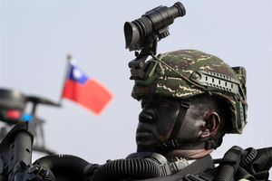 Un miembro de las Fuerzas Especiales de Taiwán.