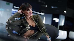 Irene Villa posa en un hotel de Barcelona, el pasado lunes.