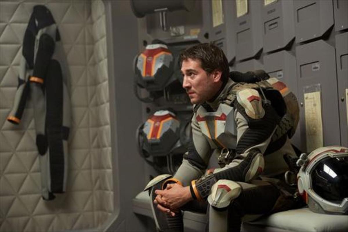 El actor Alberto Ammann, que participa en la serie de National Geographic Channel 'Marte'.